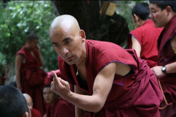 Monk, finger