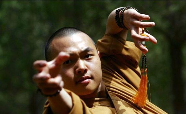 Close-up monk